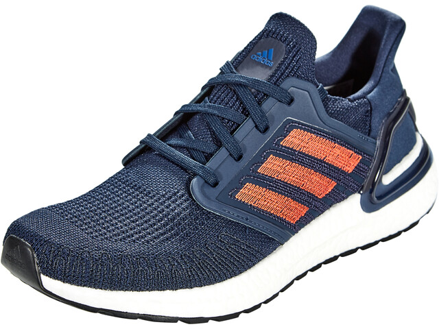 adidas Ultraboost 20 Shoes Men, collegiate navy/solar red/royal blue